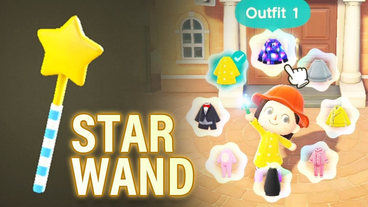 Animal Crossing New Horizons Star Wands