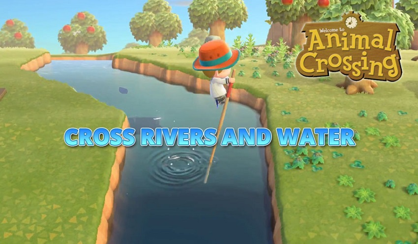 Animal Crossing New Horizons How To Cross Rivers