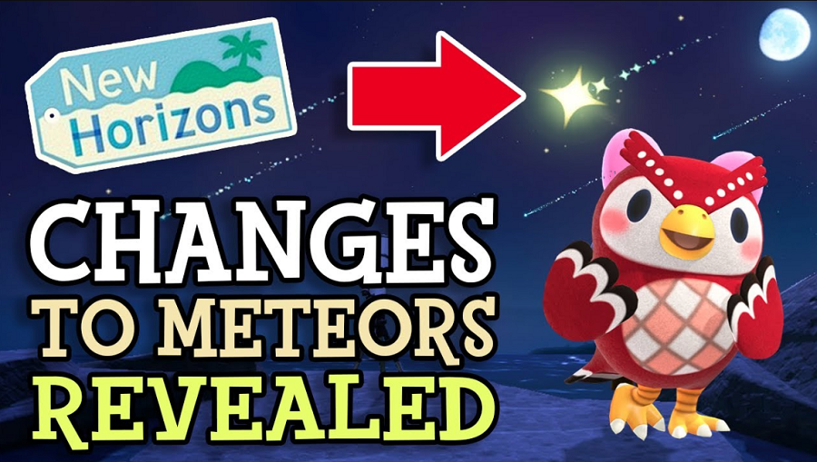 changes to meteor showers in ACNH