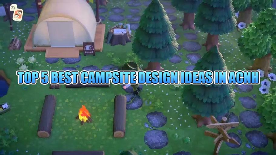 Campsite Design Ideas In Animal Crossing New Horizons Decorating You Campsite How To Build A Campsite Invite