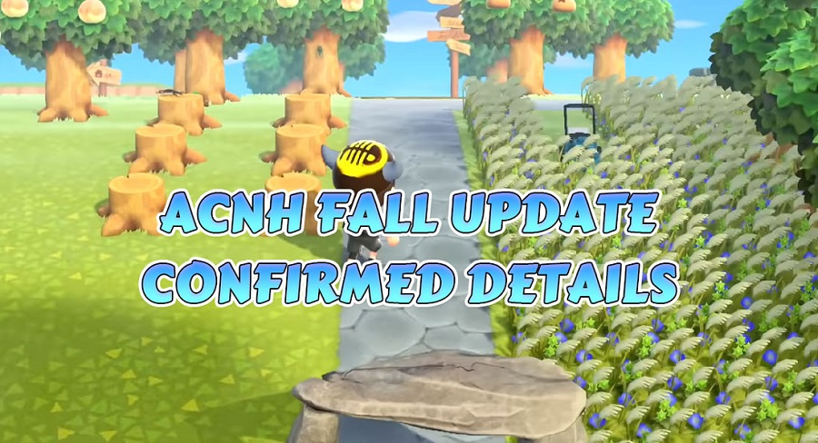 ACNH FALL UPDATE CONFIRMED DETAILS