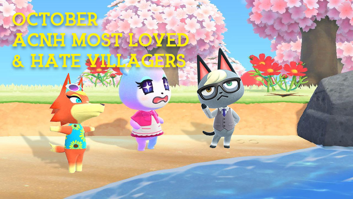 Animal Crossing New Horizons October Most Popular & Hated Villagers