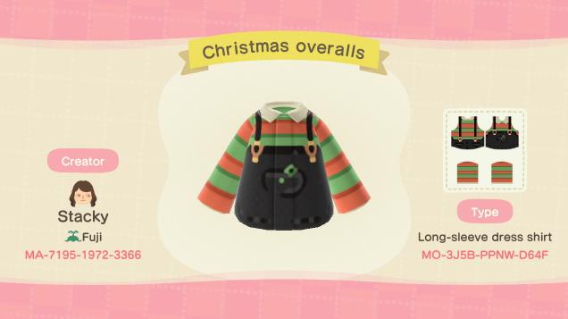 acnh christmas clothes 9