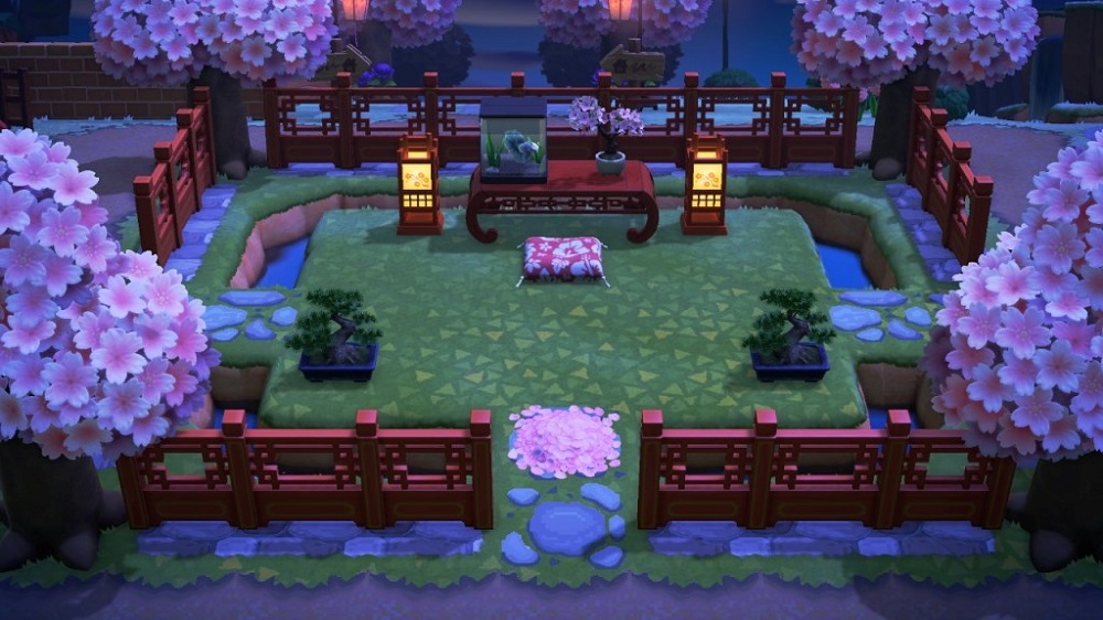 Best ACNH Cherry Blossom Island 4 - Asian Spring Natural Island